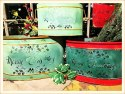 Green Christmas Containers