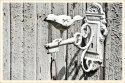 White Iron Bird Hook