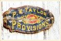 Provisions Sign