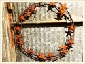 Rusty Star Wreath