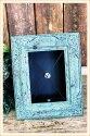 Blue Tabletop Planter Frame