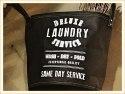 Black Laundry Tote