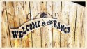 Welcome To The Ranch Plaque
