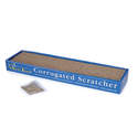 19-Inch Meow Town Corrugated Scratcher Mat