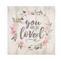 You Are So Loved Pine Wood Word Block