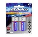 C Alkaline Batteries, 2-Pack