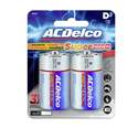 D Alkaline Batteries, 2-Pack