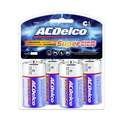 C Alkaline Batteries, 4-Pack