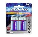 9v Alkaline Batteries, 2-Pack