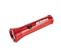Red LED Aluminum Flashlight With Batteries