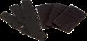 Black Replacement Felt Kit For Hdx UltraRest Arrow Rest