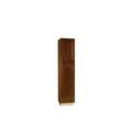 24-Inch X 18-Inch X 84-Inch Cafe Finish Maple Raised Panel Pantry