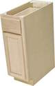 12 x 34-1/2 x 24-Inch Premium Hickory Ready-To-Finish Base Cabinet