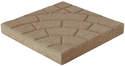Buff 16-Inch Bella Cobble Patio Stone