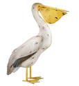22-Inch Head Up Pelican Decor