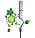 Frog Rain Gauge Stake