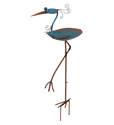Heron Diggity Bird Feeder Stake