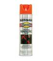15-Ounce Fluorescent Orange Professional Marking Spray Paint