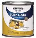 1/2-Pint Gloss Sun Yellow Brush-On Paint