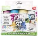 4-Pack Spray Chalk Set