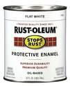 1-Quart Flat White Brush-On Protective Enamel