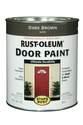 1-Quart Satin Dark Brown Brush-On Door Paint