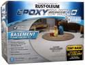 120-Fluid Ounce Tint Base Basement Floor Coating Kit