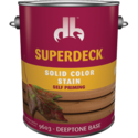 Duckback 740755960340 Superdeck Solid Color Stain Self Priming In Deeptone Base 1 Gal