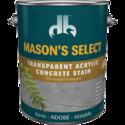 Duckback DB60104 Mason's Select Transparent Acrylic Concrete Stain In Adobe 1 Gal