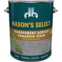 Duckback DB60804 Mason's Select Transparent Acrylic Concrete Stain In Terra Cotta 1 Gal