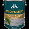 Duckback DB65204 Mason's Select Clear Acrylic Concrete Sealer In Gloss 1 Gal
