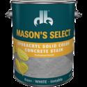 Duckback SC-6201-4 Mason's Select Epoxacryl Solid Color Concrete Stain In White 1 Gal