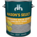 Duckback SC-6202-4 Mason's Select Epoxacryl Solid Color Concrete Stain In Gray 1 Gal