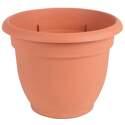 16-Inch Terra Cotta Plastic Ariana Planter