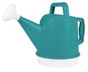 2-1/2-Gallon Bermuda Teal Deluxe Plastic Watering Can