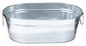 2-Gallon Galvanized Oval Tub