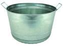 8-Gallon Galvanized Bushel Tub