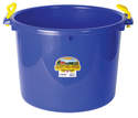 70-Quart Blue Muck Tub