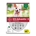 K9 Advantix II For Small Dogs 0-10 Pounds, 4-Pack