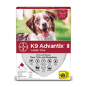 K9 Advantix II For Dogs 21-55 Pounds, 4-Pack