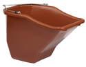 20-Quart Red Plastic Better Bucket