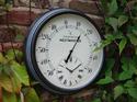 Lincoln Clock W/Thermometer