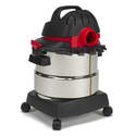 5-Gallon 4.5 Peak Hp Stainless Steel Wet/Dry Vacuum