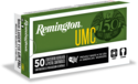 Umc 9mm Luger Handgun Ammunition, 50-Count