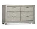 Grey Montana 6-Drawer Dresser