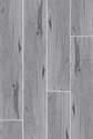 6 x 36-Inch Zebra Wood Silver Porcelain Tile Plank