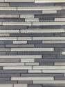 13-Inch X 12-Inch Cool Breeze Waterfall Mosaic Tile