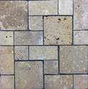 12-Inch X 12-Inch Noce Pattern Mosaic Tile