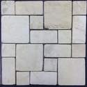 12-Inch X 12-Inch Crema Pattern Mosaic Tile