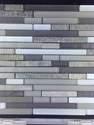 12-Inch X 12-Inch Arctic Ice Waterfall Mosaic Tile